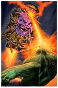Hulk vs Modok