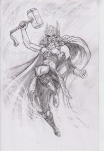 She_Thor_pencil