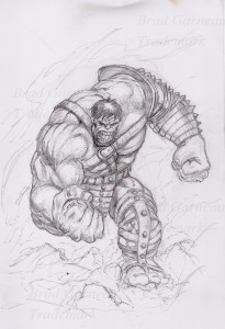World War Hulk_pencil