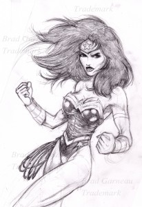 wonder woman_pencil