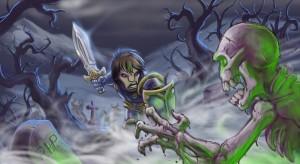 Graveyard battle Wip