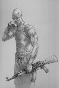 Hero-Boy Sketch